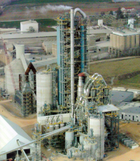Clinker, Blending, Flyash and Finish Cement Silos